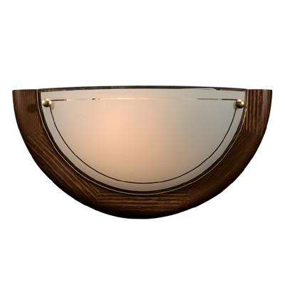 Светильник Сонекс 068 SN15 RIGAНакладные<br><br><br>Тип товара: Светильник настенный бра<br>Скидка, %: 16<br>Тип лампы: накаливания / энергосбережения / LED-светодиодная<br>Тип цоколя: E27<br>Количество ламп: 1<br>MAX мощность ламп, Вт: 100<br>Цвет арматуры: деревянный