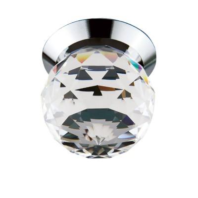 Светильник Lightstar 70102 GemmaВстраиваемые хрустальные светильники<br>Врезное отверстие: d27 h20; Внешние габариты: D32 H32; Материал - основание/плафон: металл / Crystalline; Цвет-основание/плафон: хром/прозрачный; Лампа: LED 1x1W, Световой поток: 90LM; ТРАНСФОРМАТОР ВХОДИТ В КОМПЛЕКТ 3000K;<br><br>Цветовая t, К: 3000<br>Тип лампы: LED - светодиодная<br>Тип цоколя: LED, встроенные светодиоды<br>Цвет арматуры: серебристый<br>Количество ламп: 1<br>Диаметр, мм мм: 32<br>Глубина, мм: 20<br>Диаметр врезного отверстия, мм: 27<br>Высота, мм: 32<br>Поверхность арматуры: блестящая<br>Оттенок (цвет): серебристый<br>MAX мощность ламп, Вт: 1