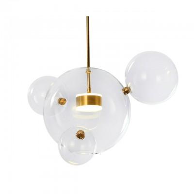 Подвесной светильник ГАЛЛА прозрачный w4045 h200 Led 10W 3000к Kink light 07545-421.