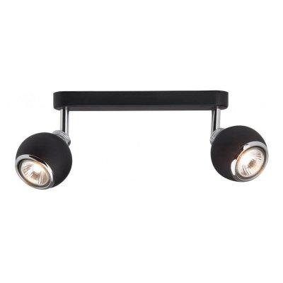 Светильник черный Brilliant G07729/06 Inaдвойные светильники споты<br>Светильники-споты – это оригинальные изделия с современным дизайном. Они позволяют не ограничивать свою фантазию при выборе освещения для интерьера. Такие модели обеспечивают достаточно качественный свет. Благодаря компактным размерам Вы можете использовать несколько спотов для одного помещения.  Интернет-магазин «Светодом» предлагает необычный светильник-спот Brilliant G07729/06 по привлекательной цене. Эта модель станет отличным дополнением к люстре, выполненной в том же стиле. Перед оформлением заказа изучите характеристики изделия.  Купить светильник-спот Brilliant G07729/06 в нашем онлайн-магазине Вы можете либо с помощью формы на сайте, либо по указанным выше телефонам. Обратите внимание, что у нас склады не только в Москве и Екатеринбурге, но и других городах России.<br><br>S освещ. до, м2: 3<br>Тип лампы: галогенная / LED-светодиодная<br>Тип цоколя: GU10<br>Цвет арматуры: черный<br>Количество ламп: 2<br>Ширина, мм: 275<br>Выступ, мм: 155<br>Длина, мм: 275<br>Высота, мм: 110<br>MAX мощность ламп, Вт: 28