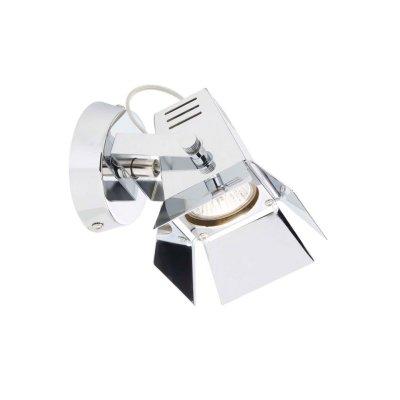 Ссветильник спот Brilliant G07810/15 хромОдиночные<br>Зачастую мы ищем идеальное освещение для своего дома и уделяем этому достаточно много времени. Так, например, если нам нужен светильник с количеством ламп - 1 и цвет плафонов должен быть - хром, а материал плафонов только металл! То нам, как вариант, подойдет модель - спот Brilliant G07810/15.<br><br>S освещ. до, м2: 2<br>Тип товара: Светильник поворотный спот<br>Тип лампы: галогенная / LED-светодиодная<br>Тип цоколя: GU10<br>Количество ламп: 1<br>Ширина, мм: 125<br>MAX мощность ламп, Вт: 35<br>Выступ, мм: 150<br>Длина, мм: 125<br>Высота, мм: 150<br>Цвет арматуры: серебристый хром