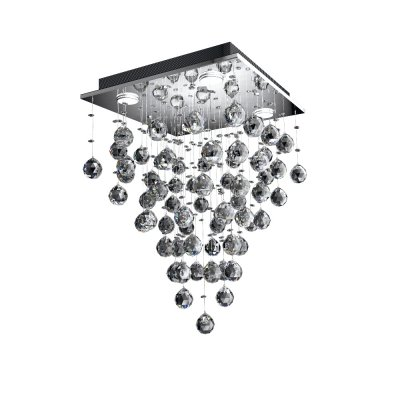 Люстра Водопад 1-0333-4-CR G5.3 МаксисветОжидается<br><br><br>S освещ. до, м2: 8<br>Тип цоколя: G5.3<br>Цвет арматуры: Хром<br>Количество ламп: 4<br>Ширина, мм: 400<br>Высота полная, мм: 650<br>Длина, мм: 400