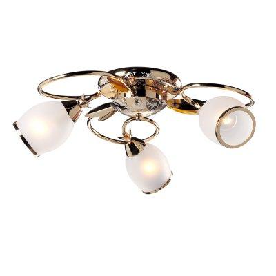 Люстра Универсал 1-1058-3-FG E14 МаксисветОжидается<br><br><br>S освещ. до, м2: 9<br>Тип цоколя: E14<br>Цвет арматуры: Золото<br>Количество ламп: 3<br>Ширина, мм: 600<br>Высота полная, мм: 180<br>Длина, мм: 600<br>Оттенок (цвет): Белый