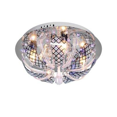 Люстра Буше 1-1924-4-CR-LED Y E14 МаксисветОжидается<br><br><br>S освещ. до, м2: 12<br>Тип цоколя: E14<br>Цвет арматуры: Хром<br>Количество ламп: 4<br>Ширина, мм: 400<br>Высота полная, мм: 210<br>Длина, мм: 400<br>Оттенок (цвет): Прозрачный