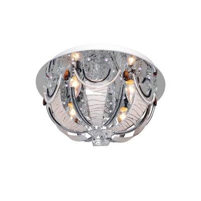 Люстра Буше 1-1997-4-CR-LED Y E14 МаксисветОжидается<br><br><br>S освещ. до, м2: 12<br>Тип цоколя: E14<br>Цвет арматуры: Хром<br>Количество ламп: 4<br>Ширина, мм: 400<br>Высота полная, мм: 240<br>Длина, мм: 400<br>Оттенок (цвет): Белый