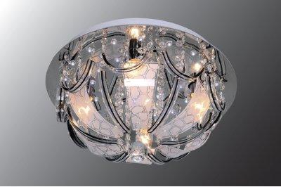 Люстра Буше 1-1998-6-CR-LED Y E14 МаксисветОжидается<br><br><br>S освещ. до, м2: 18<br>Тип цоколя: E14<br>Цвет арматуры: Хром<br>Количество ламп: 6<br>Ширина, мм: 500<br>Высота полная, мм: 260<br>Длина, мм: 500<br>Оттенок (цвет): Белый
