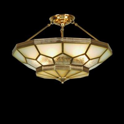 Люстра Медь со стеклом 1-4750-6-AB E27 МаксисветОжидается<br><br><br>S освещ. до, м2: 18<br>Тип цоколя: E27<br>Цвет арматуры: Бронза<br>Количество ламп: 6<br>Ширина, мм: 585<br>Высота полная, мм: 375<br>Длина, мм: 585<br>Оттенок (цвет): Разноцветный