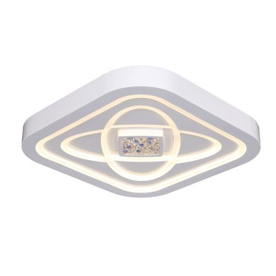 Люстра Hi-Tech 1-5002-WH Y LED МаксисветОжидается<br><br><br>S освещ. до, м2: 38<br>Тип цоколя: LED<br>Цвет арматуры: Белый<br>Количество ламп: 0<br>Ширина, мм: 550<br>Высота полная, мм: 90<br>Длина, мм: 550<br>Оттенок (цвет): Белый