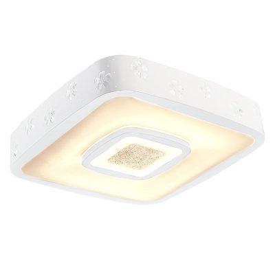 Люстра Hi-Tech 1-5013-WH Y LED МаксисветОжидается<br><br><br>S освещ. до, м2: 13<br>Тип цоколя: LED<br>Цвет арматуры: Белый<br>Количество ламп: 0<br>Ширина, мм: 520<br>Высота полная, мм: 105<br>Длина, мм: 520<br>Оттенок (цвет): Белый
