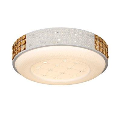 Люстра Hi-Tech 1-5030-WH Y LED МаксисветОжидается<br><br><br>S освещ. до, м2: 15<br>Тип цоколя: LED<br>Цвет арматуры: Белый<br>Количество ламп: 0<br>Ширина, мм: 484<br>Высота полная, мм: 120<br>Длина, мм: 484<br>Оттенок (цвет): Белый