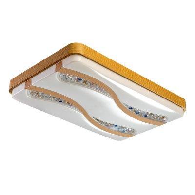Люстра Hi-Tech 1-5047-WA Y LED МаксисветОжидается<br><br><br>S освещ. до, м2: 15<br>Тип цоколя: LED<br>Цвет арматуры: Бежевый<br>Количество ламп: 0<br>Ширина, мм: 400<br>Высота полная, мм: 100<br>Длина, мм: 629<br>Оттенок (цвет): Белый