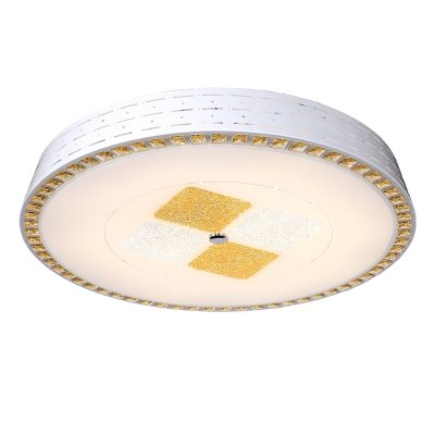Люстра Hi-Tech 1-5054-WH Y LED МаксисветОжидается<br><br><br>S освещ. до, м2: 20<br>Тип цоколя: LED<br>Цвет арматуры: Белый<br>Количество ламп: 0<br>Ширина, мм: 655<br>Высота полная, мм: 100<br>Длина, мм: 655<br>Оттенок (цвет): Белый