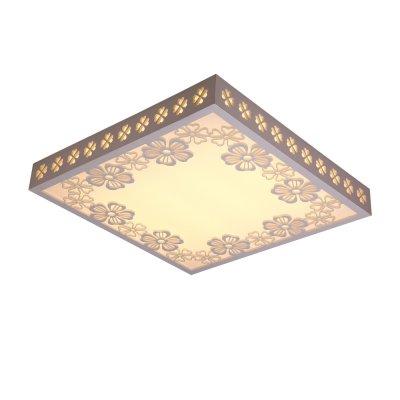 Люстра Панель 1-7222-WH Y LED МаксисветОжидается<br><br><br>S освещ. до, м2: 8<br>Тип цоколя: LED<br>Цвет арматуры: Белый<br>Количество ламп: 0<br>Ширина, мм: 550<br>Высота полная, мм: 105<br>Длина, мм: 550<br>Оттенок (цвет): Белый