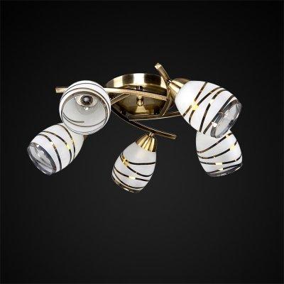 Люстра Универсал 1-8666-5-AB E14 МаксисветОжидается<br>Эти светильники коллекции Универсал отличаются простотой и элегантностью. Аккуратный бронзовый каркас, матовые белые плафоны, расположенные под углом к основанию, дают мягкий рассеянный свет. Компоновка дуг каркаса создает выразительный ритмический рисунок, который поддерживается изящными линиями в оформлении плафонов.<br>И, конечно же, неоспоримыми преимуществами светильников Универсал являются качество и демократичные цены.<br>Стилевые решения интерьера: модель будет уместна в большинстве интерьеров современной квартиры.<br>Тип помещения: гостиная, кухня, прихожая.<br><br>S освещ. до, м2: 15<br>Тип цоколя: E14<br>Цвет арматуры: Бронза<br>Количество ламп: 5<br>Ширина, мм: 500<br>Высота полная, мм: 170<br>Длина, мм: 500<br>Оттенок (цвет): Белый