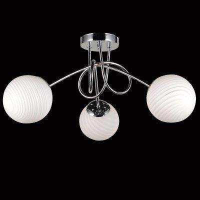Люстра Универсал 1-8756-3-CR E14 МаксисветОжидается<br><br><br>S освещ. до, м2: 9<br>Тип цоколя: E14<br>Цвет арматуры: Хром<br>Количество ламп: 3<br>Ширина, мм: 580<br>Высота полная, мм: 260<br>Длина, мм: 580<br>Оттенок (цвет): Белый