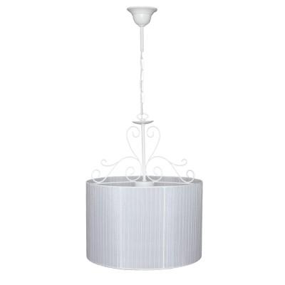 Люстра Аврора 10025-3L АжурПодвесные<br>Важными и отличительными особенностями модели светильника Аврора 10025-3L является металл белого цвета, белая  органза с габаритными размерами 380*480/1630мм. Хотелось бы отметить российскую сборку в г. Самара с отечественными комплектующими.<br><br>Установка на натяжной потолок: Да<br>S освещ. до, м2: 9<br>Крепление: Крюк<br>Тип цоколя: E14<br>Количество ламп: 3<br>Диаметр, мм мм: 380<br>Размеры: 380*480/1630<br>Длина цепи/провода, мм: 1000<br>Высота, мм: 480 - 1630<br>MAX мощность ламп, Вт: 60