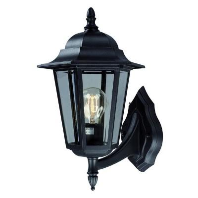 Светильник Markslojd 100290Настенные<br><br><br>Тип лампы: Накаливания / энергосбережения / светодиодная<br>Тип цоколя: E27<br>Количество ламп: 1<br>Ширина, мм: 230<br>MAX мощность ламп, Вт: 60<br>Расстояние от стены, мм: 260<br>Высота, мм: 370<br>Цвет арматуры: черный