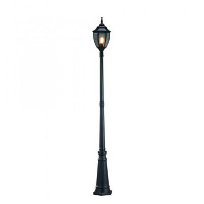 Светильник Markslojd 100313Уличные фонари с несколькими плафонами<br><br><br>Тип лампы: Накаливания / энергосбережения / светодиодная<br>Тип цоколя: E27<br>Количество ламп: 1<br>Диаметр, мм мм: 210<br>Высота, мм: 2250<br>MAX мощность ламп, Вт: 75
