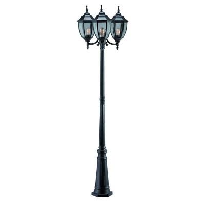 Светильник Markslojd 100315Большие фонари<br><br><br>Тип лампы: Накаливания / энергосбережения / светодиодная<br>Тип цоколя: E27<br>Количество ламп: 3<br>MAX мощность ламп, Вт: 60<br>Диаметр, мм мм: 600<br>Высота, мм: 2260<br>Цвет арматуры: черный