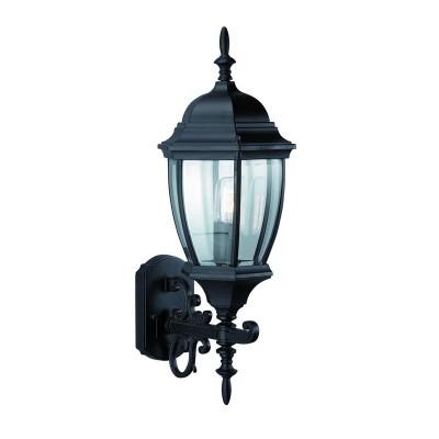 Светильник Markslojd 100330Настенные<br><br><br>Тип лампы: Накаливания / энергосбережения / светодиодная<br>Тип цоколя: E27<br>Количество ламп: 1<br>Ширина, мм: 240<br>MAX мощность ламп, Вт: 60<br>Расстояние от стены, мм: 280<br>Высота, мм: 620<br>Цвет арматуры: черный