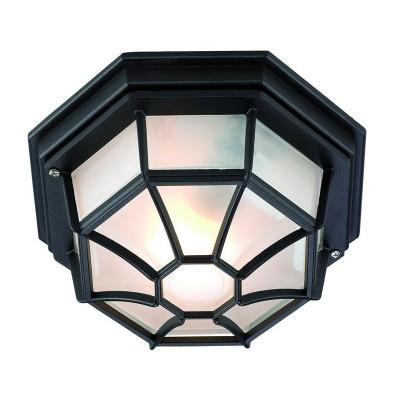 Светильник Markslojd 100394Потолочные<br><br><br>Тип лампы: Накаливания / энергосбережения / светодиодная<br>Тип цоколя: E27<br>Количество ламп: 1<br>MAX мощность ламп, Вт: 60<br>Диаметр, мм мм: 290<br>Высота, мм: 120<br>Цвет арматуры: черный