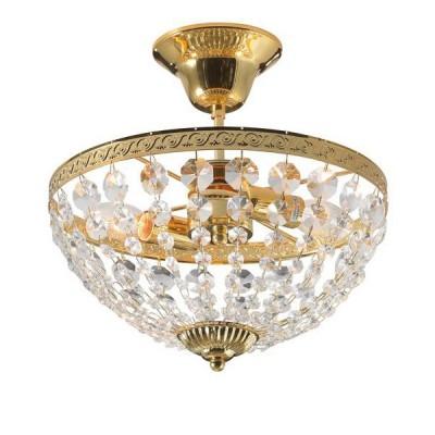Светильник Markslojd 100486Потолочные<br><br><br>Тип лампы: Накаливания / энергосбережения / светодиодная<br>Тип цоколя: E14<br>Количество ламп: 2<br>MAX мощность ламп, Вт: 40<br>Диаметр, мм мм: 300<br>Высота, мм: 300<br>Цвет арматуры: золотой