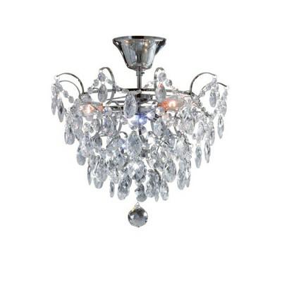Светильник Markslojd 100539Потолочные<br><br><br>Тип лампы: Накаливания / энергосбережения / светодиодная<br>Тип цоколя: E14<br>Количество ламп: 3<br>MAX мощность ламп, Вт: 40<br>Диаметр, мм мм: 360<br>Высота, мм: 340<br>Цвет арматуры: серебристый