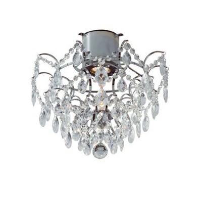 Светильник Markslojd 100542Потолочные<br><br><br>Тип лампы: галогенная/LED<br>Тип цоколя: GU10<br>Количество ламп: 1<br>Диаметр, мм мм: 360<br>Высота, мм: 340<br>Цвет арматуры: серебристый