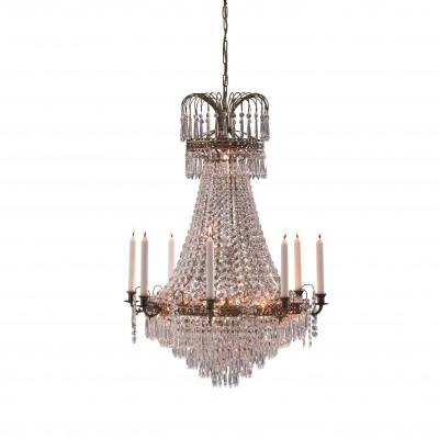 Светильник MarkSlojd  LampGustaf 100659Подвесные<br><br><br>S освещ. до, м2: 18<br>Тип лампы: Накаливания / энергосбережения / светодиодная<br>Тип цоколя: E14<br>Цвет арматуры: бронзовый<br>Количество ламп: 9<br>Диаметр, мм мм: 660<br>Высота, мм: 2500<br>MAX мощность ламп, Вт: 40
