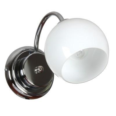 Аврора Крокус 10097-1B Светильник настенный браСовременные<br>Важными и отличительными особенностями модели светильника Аврора 10097-1B является металл хром, плафоны дуплекс молочного цвета с габаритными размерами 135*180*280мм. Хотелось бы отметить российскую сборку в г. Самара с отечественными комплектующими.<br><br>Тип цоколя: E14<br>Количество ламп: 1<br>Ширина, мм: 135<br>MAX мощность ламп, Вт: 60<br>Размеры: 135*180*280<br>Расстояние от стены, мм: 280<br>Высота, мм: 180
