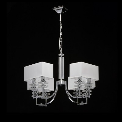 Mw light Прато 101010608 ЛюстраПодвесные<br><br><br>Установка на натяжной потолок: Да<br>S освещ. до, м2: 16<br>Тип лампы: Накаливания / энергосбережения / светодиодная<br>Тип цоколя: E14<br>Количество ламп: 8<br>Ширина, мм: 670<br>MAX мощность ламп, Вт: 40<br>Длина, мм: 670<br>Высота, мм: 580 - 870