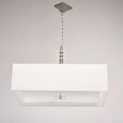 Mw light Прато 101011808 ЛюстраПодвесные<br><br><br>Установка на натяжной потолок: Да<br>S освещ. до, м2: 16<br>Тип лампы: Накаливания / энергосбережения / светодиодная<br>Тип цоколя: E14<br>Количество ламп: 8<br>Ширина, мм: 450<br>MAX мощность ламп, Вт: 40<br>Высота, мм: 590 - 850