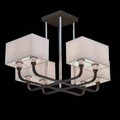 Mw light 101012008 СветильникПотолочные<br><br><br>Установка на натяжной потолок: Да<br>S освещ. до, м2: 16<br>Тип лампы: Накаливания / энергосбережения / светодиодная<br>Тип цоколя: E14<br>Цвет арматуры: серый<br>Количество ламп: 8<br>Ширина, мм: 680<br>Длина, мм: 680<br>Высота, мм: 450<br>MAX мощность ламп, Вт: 40