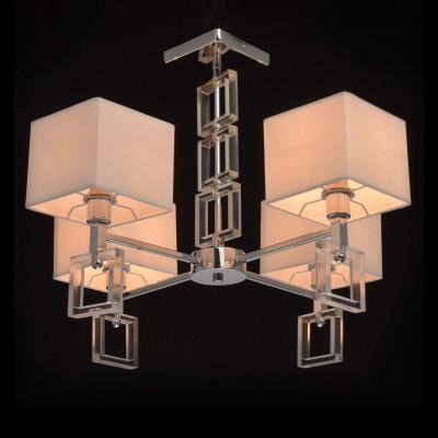 Mw light 101012304 Люстралюстры хай тек потолочные<br><br><br>Установка на натяжной потолок: Да<br>S освещ. до, м2: 8<br>Тип лампы: Накаливания / энергосбережения / светодиодная<br>Тип цоколя: E14<br>Цвет арматуры: Серебристый хром<br>Количество ламп: 4<br>Диаметр, мм мм: 590<br>Высота, мм: 510<br>Оттенок (цвет): белый<br>MAX мощность ламп, Вт: 40