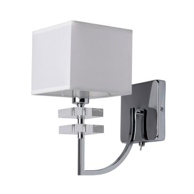 Mw light Прато 101020101 Светильник браСовременные<br><br><br>Тип лампы: Накаливания / энергосбережения / светодиодная<br>Тип цоколя: E14<br>Количество ламп: 1<br>Ширина, мм: 140<br>MAX мощность ламп, Вт: 40<br>Расстояние от стены, мм: 280<br>Высота, мм: 240
