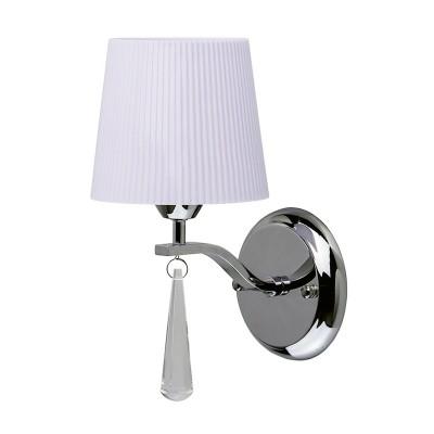 Mw light Прато 101021001 Светильник браСовременные<br><br><br>Тип лампы: Накаливания / энергосбережения / светодиодная<br>Тип цоколя: E14<br>Количество ламп: 1<br>Ширина, мм: 120<br>MAX мощность ламп, Вт: 40<br>Расстояние от стены, мм: 280<br>Высота, мм: 190