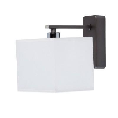 Mw light Прато 101021201 Светильник браСовременные<br><br><br>Тип лампы: Накаливания / энергосбережения / светодиодная<br>Тип цоколя: E14<br>Количество ламп: 1<br>Ширина, мм: 160<br>Расстояние от стены, мм: 180<br>Высота, мм: 200<br>MAX мощность ламп, Вт: 40