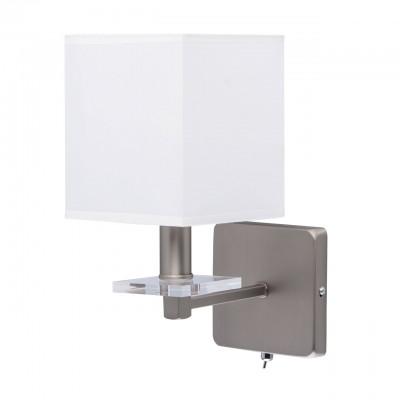 101021401 Mw light СветильникХай-тек<br><br><br>Тип лампы: Накаливания / энергосбережения / светодиодная<br>Тип цоколя: E14<br>Количество ламп: 1<br>Ширина, мм: 140<br>Длина, мм: 300<br>Высота, мм: 220<br>MAX мощность ламп, Вт: 40