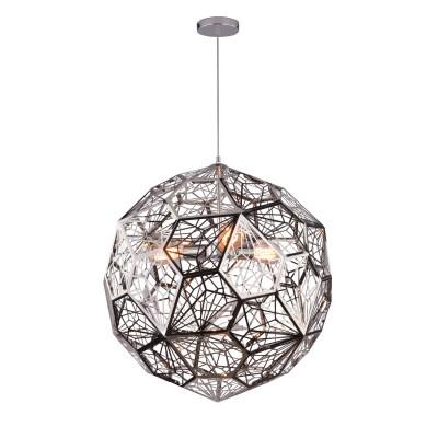 Светильник Divinare 1011/02 SP-3Подвесные<br><br><br>Установка на натяжной потолок: Да<br>S освещ. до, м2: 9<br>Тип цоколя: E27<br>Количество ламп: 3<br>MAX мощность ламп, Вт: 60W<br>Диаметр, мм мм: 600<br>Высота, мм: 600 - 1650