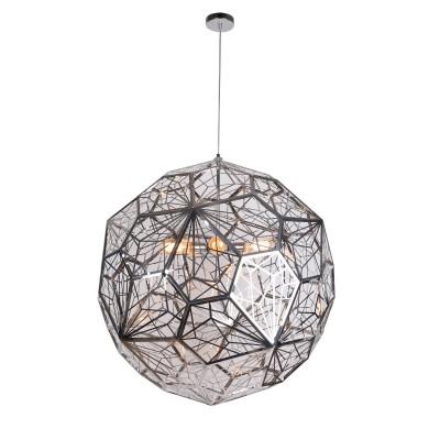 Светильник Divinare 1011/02 SP-5Подвесные<br><br><br>Установка на натяжной потолок: Да<br>S освещ. до, м2: 15<br>Тип лампы: Накаливания / энергосбережения / светодиодная<br>Тип цоколя: E27<br>Количество ламп: 5<br>MAX мощность ламп, Вт: 60W<br>Диаметр, мм мм: 1000<br>Высота, мм: 1000