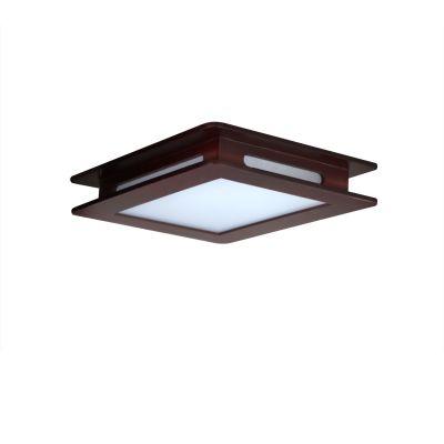 Светильник Colosseo 10147/2Квадратные<br>Выбирая светильник с деревянным каркасом, Вы подчёркиваете особенное владение отменным вкусом. Именно люстра Colosseo 10147/2 выполнена в стильной геометрической форме квадрата с использованием деревянной вставки в тон. Лаконичность, лёгкость, практичность и чёткость линий гармонично сочетаются в данной конструкции. Особенно привлекательным будет тандем с обоями и фурнитурой тёплых оттенков: это шоколадные, песочные, бордовые и другие. Наиболее подходящим дополнением станут резная мебель из дерева, зеркала в багетах, картины в декорированных рамах. Люстра Colosseo 10147/2 – это показатель прекрасного вкуса в выборе изысканного освещения!<br><br>S освещ. до, м2: 8<br>Крепление: планка<br>Тип лампы: накаливания / энергосбережения / LED-светодиодная<br>Тип цоколя: E27<br>Количество ламп: 2<br>Ширина, мм: 350<br>MAX мощность ламп, Вт: 60<br>Длина, мм: 350<br>Расстояние от стены, мм: 90<br>Высота, мм: 90<br>Оттенок (цвет): под дерево<br>Цвет арматуры: деревянный