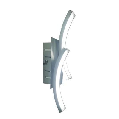 Аврора Орбита 10147-2W Светильник настенный браХай-тек<br>Орбита - коллекция современных высокоэффективных и высокотехнологичных светодиодных светильников. В отличие от подобных светильников, в наших используется не светодиодная лента, а светодиоды на алюминиевой плате. В наших светильниках мы используем светодиоды лучших мировых производителей Cree, LG и Samsung. Наша технология позволила значительно повысить качество и долговечность светильников, так как лента часто отклеивается, что приводит к выгоранию светодиода в этом месте, а на платах этого не происходит. Эта коллекция создана для интерьеров в современном стиле и стиле Хайтек.<br><br>Тип цоколя: LED<br>MAX мощность ламп, Вт: 5W, 4000K<br>Размеры: W80*H300*D70<br>Оттенок (цвет): металл алюминиевого цвета, акриловое покрытие LED белое матовое