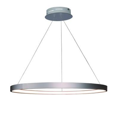 Аврора Орбита 10147-5P ЛюстраПодвесные<br><br><br>Крепление: планка<br>Тип товара: Люстра<br>Цветовая t, К: 4000<br>Тип лампы: LED<br>Тип цоколя: LED<br>MAX мощность ламп, Вт: 26<br>Диаметр, мм мм: 500<br>Высота, мм: 300 - 1500<br>Оттенок (цвет): металл алюминиевого цвета, акриловое покрытие LED белое матовое