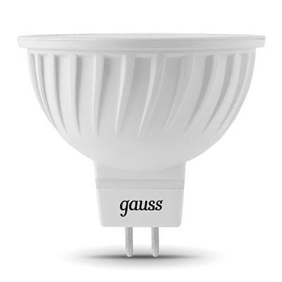 Лампа Gauss LED MR16 GU5.3 7W 2700KЗеркальные MR16 - 5.3<br><br><br>Цветовая t, К: 2700<br>Тип лампы: LED<br>Тип цоколя: GU5.3<br>MAX мощность ламп, Вт: 7