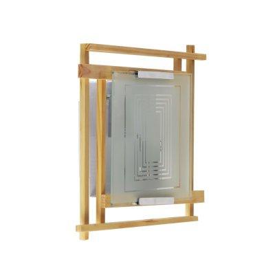 настенно-потолочный Colosseo 10160/2 AOSTAПрямоугольные<br>Настенно-потолочные светильники – это универсальные осветительные варианты, которые подходят для вертикального и горизонтального монтажа. В интернет-магазине «Светодом» Вы можете приобрести подобные модели по выгодной стоимости. В нашем каталоге представлены как бюджетные варианты, так и эксклюзивные изделия от производителей, которые уже давно заслужили доверие дизайнеров и простых покупателей.  Настенно-потолочный светильник Colosseo 10160/2 станет прекрасным дополнением к основному освещению. Благодаря качественному исполнению и применению современных технологий при производстве эта модель будет радовать Вас своим привлекательным внешним видом долгое время. Приобрести настенно-потолочный светильник Colosseo 10160/2 можно, находясь в любой точке России.<br><br>S освещ. до, м2: 8<br>Тип лампы: накаливания / энергосбережения / LED-светодиодная<br>Тип цоколя: E14<br>Количество ламп: 2<br>Ширина, мм: 270<br>MAX мощность ламп, Вт: 60<br>Расстояние от стены, мм: 90<br>Высота, мм: 280<br>Цвет арматуры: деревянный