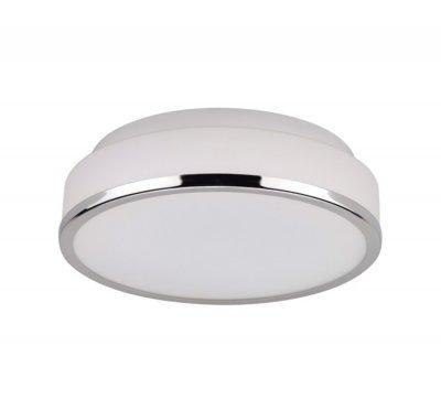 Светильник Colosseo 10161/1Круглые<br><br><br>S освещ. до, м2: 1<br>Тип товара: Светильник настенно-потолочный<br>Скидка, %: 16<br>Тип лампы: накаливания / энергосбережения / LED-светодиодная<br>Тип цоколя: E27<br>MAX мощность ламп, Вт: 60<br>Диаметр, мм мм: 250<br>Высота, мм: 75<br>Цвет арматуры: серебристый