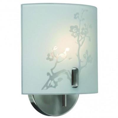 Светильник Markslojd 101760Современные<br><br><br>Тип лампы: Накаливания / энергосбережения / светодиодная<br>Тип цоколя: E14<br>Количество ламп: 1<br>Ширина, мм: 180<br>MAX мощность ламп, Вт: 40<br>Расстояние от стены, мм: 100<br>Высота, мм: 220