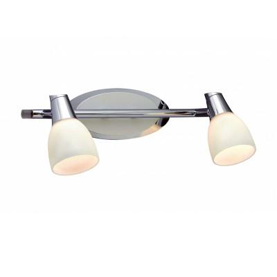 Светильник Markslojd 101843Двойные<br><br><br>S освещ. до, м2: 4<br>Тип лампы: Накаливания / энергосбережения / светодиодная<br>Тип цоколя: E14<br>Цвет арматуры: серебристый<br>Количество ламп: 2<br>Ширина, мм: 170<br>Длина, мм: 320<br>Высота, мм: 120<br>MAX мощность ламп, Вт: 40