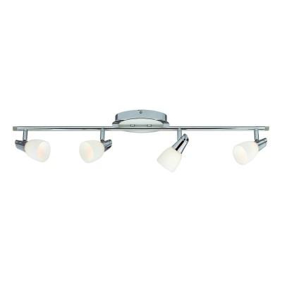 Светильник Markslojd 101847С 4 лампами<br><br><br>S освещ. до, м2: 8<br>Тип лампы: Накаливания / энергосбережения / светодиодная<br>Тип цоколя: E14<br>Количество ламп: 4<br>Ширина, мм: 800<br>Расстояние от стены, мм: 140<br>Высота, мм: 170<br>MAX мощность ламп, Вт: 40