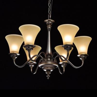 Mw light 102010206 СветильникПодвесные<br><br><br>Установка на натяжной потолок: Да<br>S освещ. до, м2: 12<br>Тип лампы: Накаливания / энергосбережения / светодиодная<br>Тип цоколя: E27<br>Цвет арматуры: бронзовый<br>Количество ламп: 6<br>Диаметр, мм мм: 700<br>Высота, мм: 540 - 1000<br>MAX мощность ламп, Вт: 40